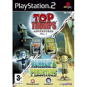 Horror og rovdyr Top Tumps PS2 spil