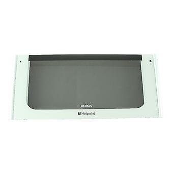 Oven Door Glass Top Ultima Polar Whi