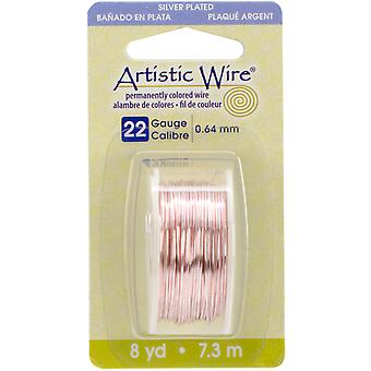 Artistic Wire 22 Gauge 8yd-Rose Gold