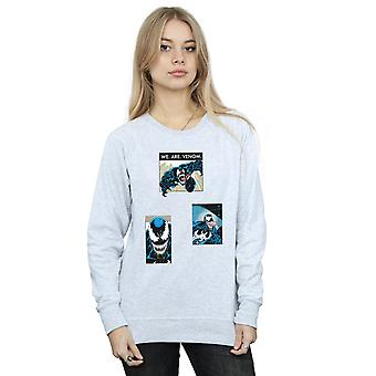 Venin Collage Sweatshirt de la femme de merveille