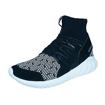 Mens adidas Originals Trainers Tubular Doom Primeknit Shoes - Black