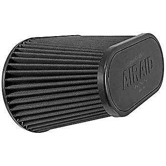 Airaid 722-128 Universal Clamp-On Air Filter: Oval Tapered; 4.5 in (114 mm) Flange ID; 7.25 in (184 mm) Height; 11.5 in