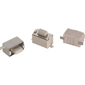 Würth Elektronik WS-TSW 434111043826 Pushbutton 12 Vdc 0.05 A 1 x Off/(On) momentary 1 pc(s)
