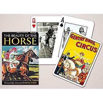 The Beauty Of The Horse Set Of Playing Cards + Jokers