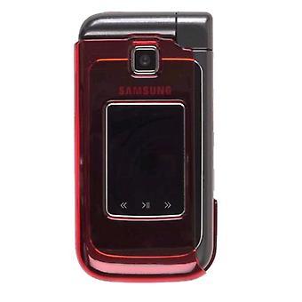 De dos piezas de Snap-On caso para Samsung SCH-U750 (rojo)