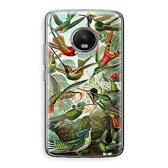Motorola Moto G5 Transparent Case (Soft) - Haeckel Trochilidae