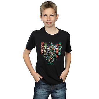 DC Comics Boys Aquaman Unite The Kingdoms T-Shirt