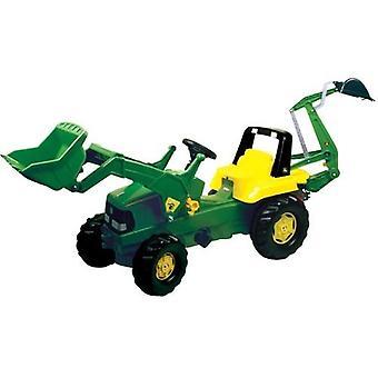 Rolly Toys 811076 RollyJunior John Deere Traktor mit Lader und Bagger