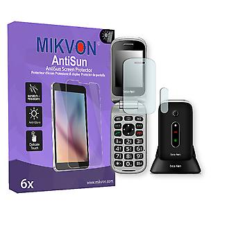 Bea-fon SL570 Screen Protector - Mikvon AntiSun (Retail Package with accessories)