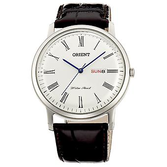 Orient watch mens Silber