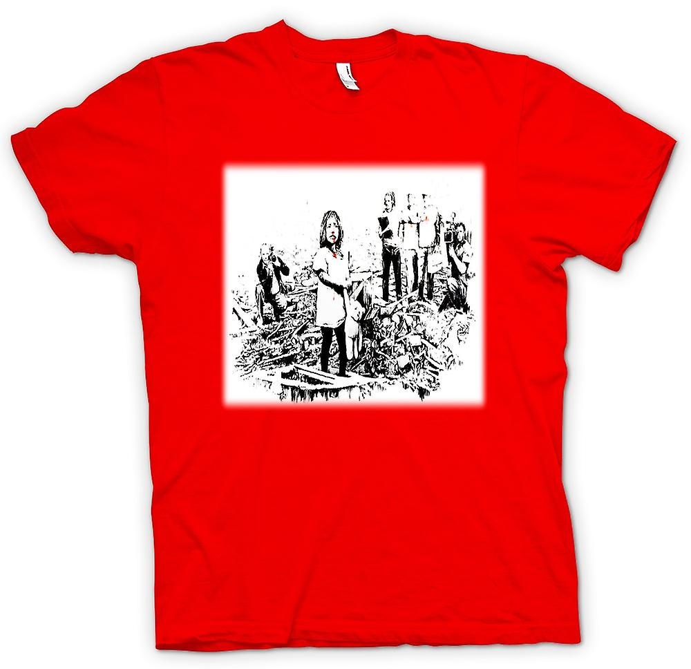 Mens t-shirt - Banksy Disaster - Design