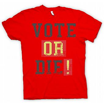 Vote Or Die - Funny South Park Inspired T Shirt