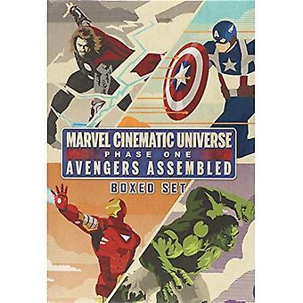 Marvels filmiska universum: Phase One Book Boxed Set: Avengers monteras