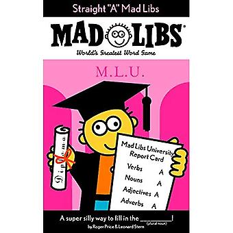 Straight a (Mad Libs (Unnumbered Paperback))