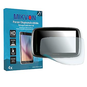 TomTom Go 510 World Screen Protector - Mikvon Armor Screen Protector (Retail Package with accessories)