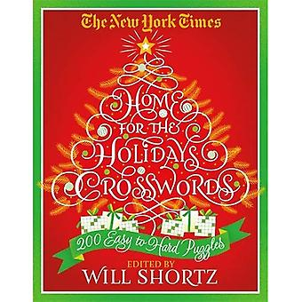 The New York Times Home for the Holidays Crosswords: 200 Easy to Hard Puzzles