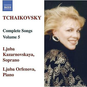 PI Tchaikovsky - Tchaikovsky: Komplette sanger, Vol. 5 [DVD] USA import