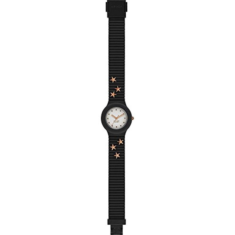 Hip Hop analogique quartz MesLes dames poignet montre de Silicone HWU0799