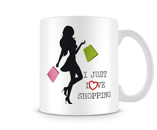 I Just Love Shopping Mug