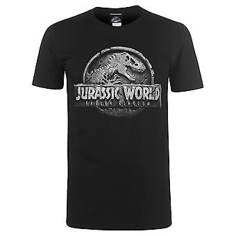 حرف الجوراسي رجالي قميص العالم تي