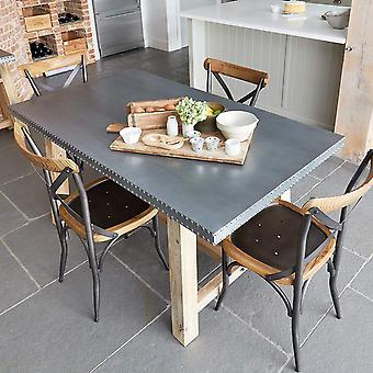 Kuba Wooden Dining Table - Baumhaus