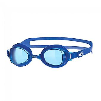 Zoggs Otter Adult UV Swimming Swim Water Pool Goggles Blue