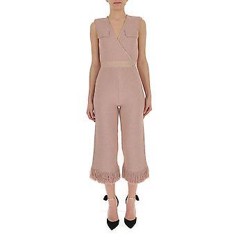 Elisabetta Franchi Pink Viskose Overall