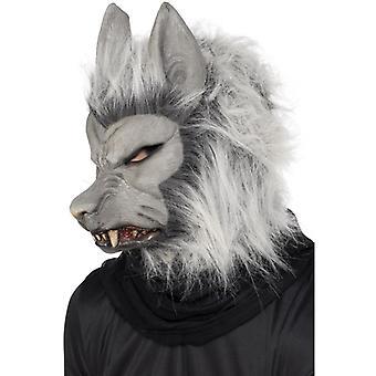 Varulv maske med hår