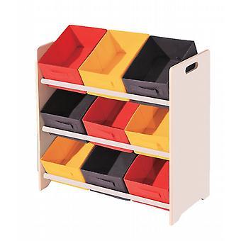 3Tier 9Box opslag Toy briefpapier organisator (SL674)