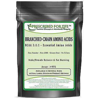 Branch Chain Amino Acids - BCAA 2:1:1 - Essential Amino Acids - Fine Powder