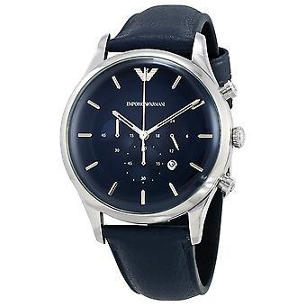 Emporio Armani Ar11018 Chronograph Blue Dial Men's Watch