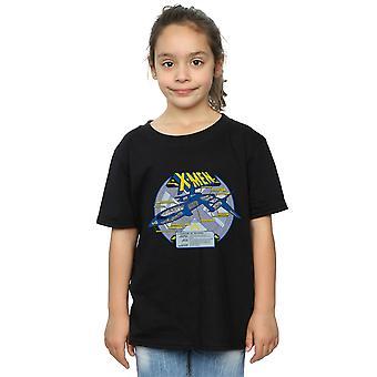 Marvel Girls X-Men X-Jet Breakdown T-Shirt