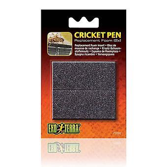 Spugna di ricambio per penna di cricket Exo Terra (2PK)