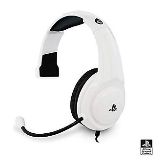 Officiellement sous licence 4Gamers PRO4 chat Gaming Headset PS4-blanc