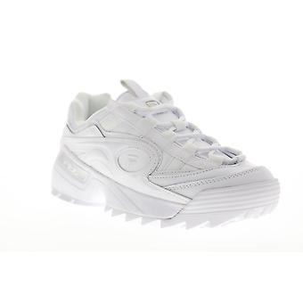 Fila D-Formation 1CM00489-100 mens wit casual Lace up lage top sneakers schoenen