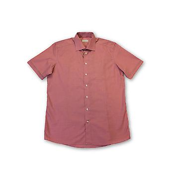 Eton Contemporary shirt in pink gingham check
