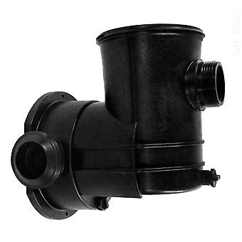 Jacuzzi 16111700R 90 Degree Discharge Strainer Case Assembly for Pool Pumps