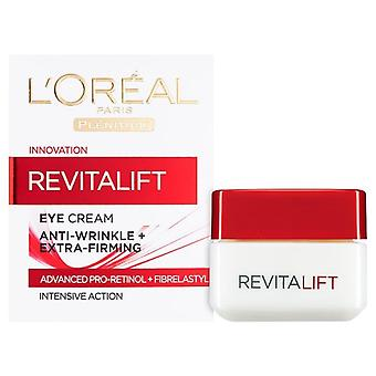 L'oreal Revitalift Eyes Cream For Anti Wrinkle & Extra Firming