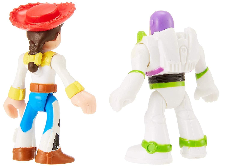 Imaginext Disney Pixar Toy Story Figures - Buzz Lightyear and Jessie