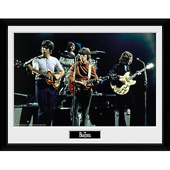 The Beatles Live Framed Collector Print 40x30cm