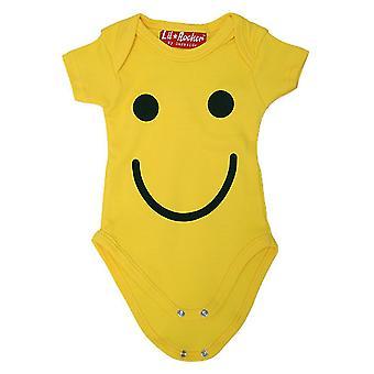 Dark Side-smiley baby-baby-groeien/Romper/baby groeien/