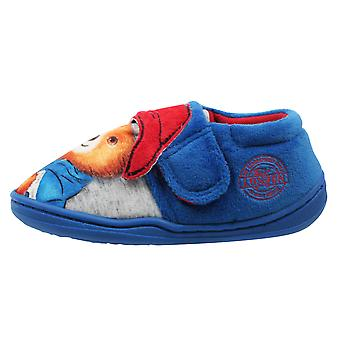 Paddington Bear Boys Padpinatubo Low Top Slippers UK Sizes Child 5-10