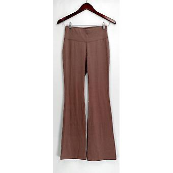 AnyBody Lounge Pants, Sleep Shorts XXS Loungewear Cozy Knit Flare Beige A286590