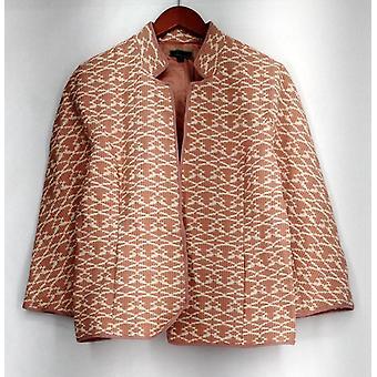 C. Wonder Brocade Jacket w/ Bracelet Sleeves Pink A275099