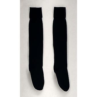 Jeffries Socks Navy Blue Knee High Stretch Womens