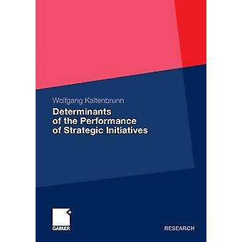 Determinants of the Performance of Strategic Initiatives by Kaltenbrunn & Wolfgang