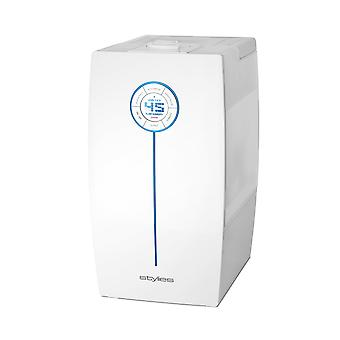 Stylies Hera-Ultrasonic humidifier with digital control warm mist 65 m²/160 m³ White