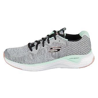 Skechers Solar Fuse Brisk Escape 13328GYMT   women shoes