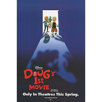 Doug ' s ensimmäinen elokuva (kaksipuolinen Advance) alkuperäinen elokuva juliste