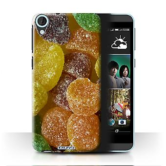 STUFF4 Case/Cover for HTC Desire 820q Dual/Fruit Pastilles/Sweets & Candy
